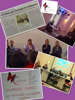 C.H.I.A.R.A. O.N.L.U.S. Convegni e presentazione Ottobre 2013